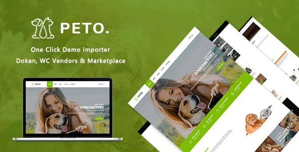 Peto | Animal and Pet Shop WooCommerce WordPress Theme - WooCommerce eCommerce