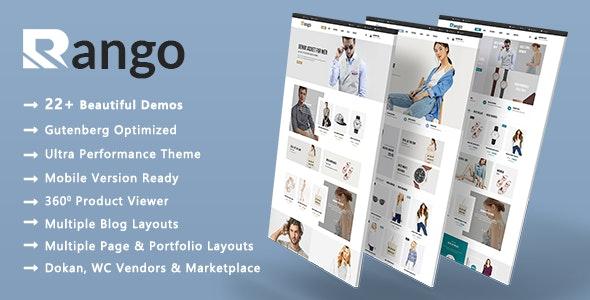 Rango | Elegant Fashion WooCommerce WordPress Theme - WooCommerce eCommerce