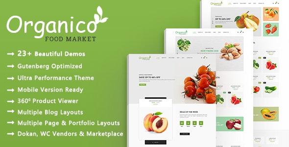 Organico | Healthy Food WooCommerce WordPress Theme - WooCommerce eCommerce