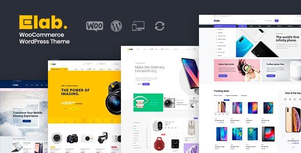 eLab - Multi Vendor Marketplace WordPress Theme - WooCommerce eCommerce