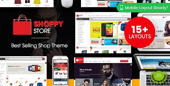 ShoppyStore - Multipurpose Responsive WooCommerce WordPress Theme (15+ Homepages & 3 Mobile Layouts) - WooCommerce eCommerce