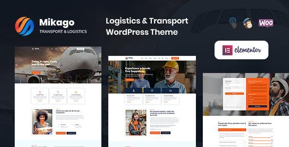 Mikago – Logistics & Transportation WordPress Theme - Business Corporate