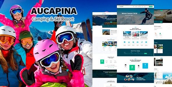 Aucapina - Camping & Ski Resort Theme - Travel Retail