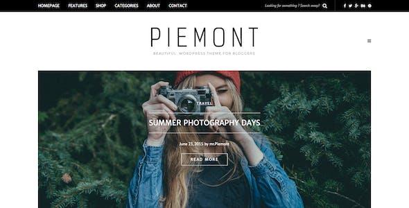 Piemont - Premium Travel & Lifestyle Responsive WordPress Blog Theme