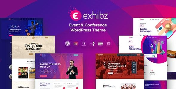Exhibz   Event Conference WordPress Theme - Events Entertainment