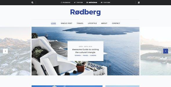 Rodberg - Travel Blog WordPress Theme