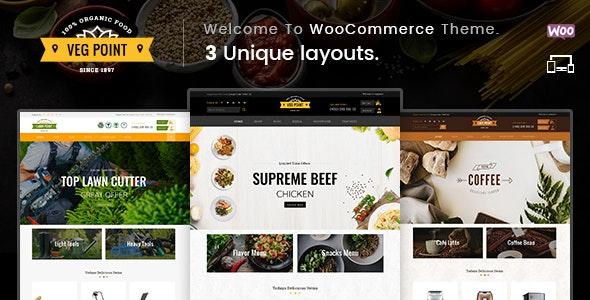 Veg Point - Multipurpose WooCommerce Theme - WooCommerce eCommerce