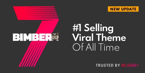 Bimber Viral Magazine Wordpress Theme By Bringthepixel