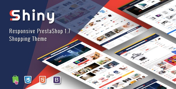 Shiny - Best Responsive Prestashop 1.7 Shopping Theme - Shopping PrestaShop