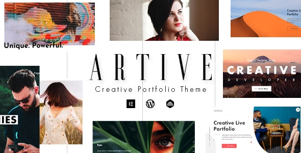 Artive - Creative Portfolio Theme - Portfolio Creative