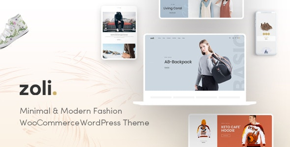 Zoli - Fashion WooCommerce WordPress Theme - WooCommerce eCommerce