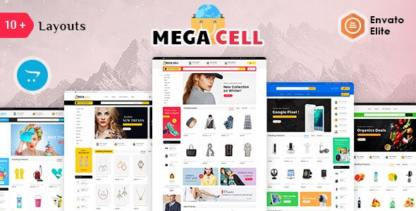 Mega Cell - Opencart 3 Multi-Purpose Responsive Theme - Shopping OpenCart