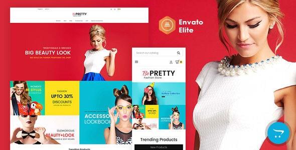 BePRETTY - Opencart 3 Multi-Purpose Responsive Theme - OpenCart eCommerce