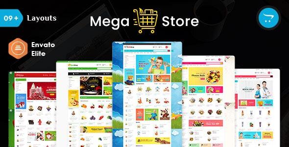 Mega Store - Opencart 3 Multi Purpose Responsive Theme - Shopping OpenCart
