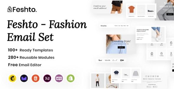 Feshto - Fashion Email Set - Newsletters Email Templates