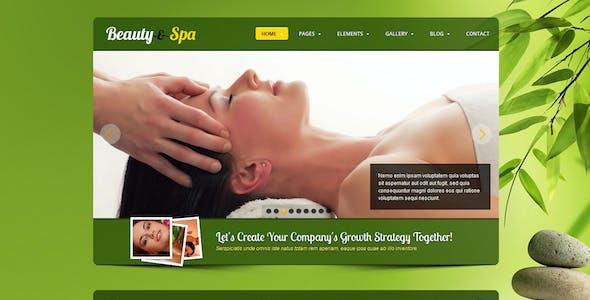 Beauty-spa - Responsive website template