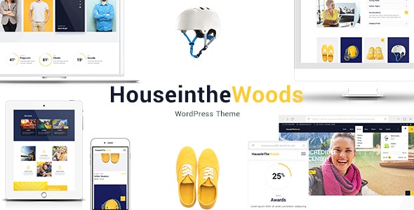 House In The Wood - Tourism and Entertainment Theme - Business Corporate