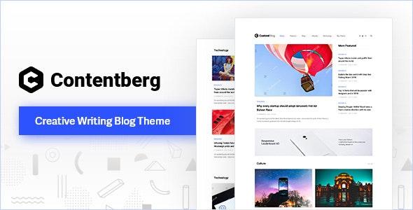 Contentberg - Content Marketing & Personal Blog - Personal Blog / Magazine