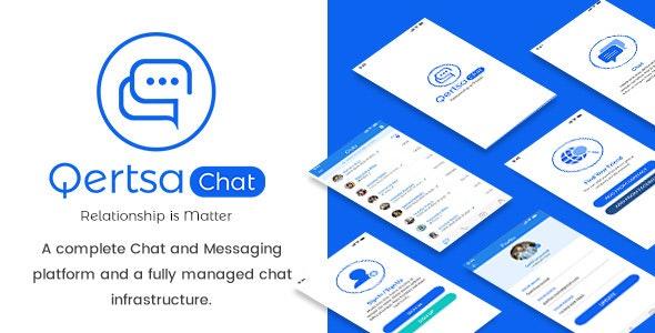 Qertsa - Mobile App PSD - Miscellaneous Photoshop