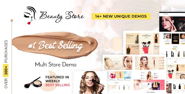 Beauty Store - Multipurpose Shopify Theme - Health & Beauty Shopify
