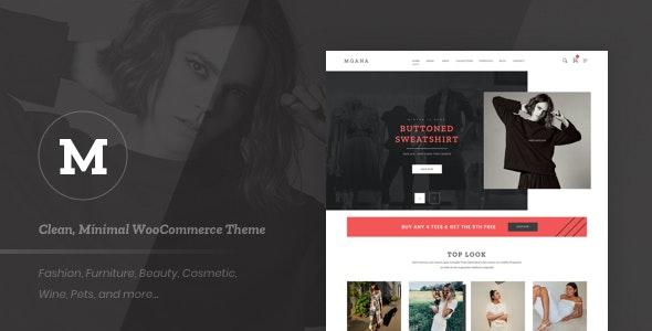 Mgana - Clean, Minimal WooCommerce Theme - WooCommerce eCommerce