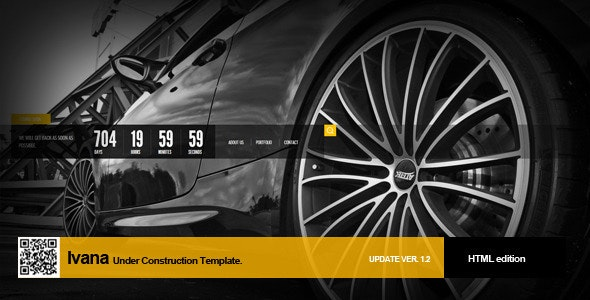 Ivana Under Construction Template - Under Construction Specialty Pages