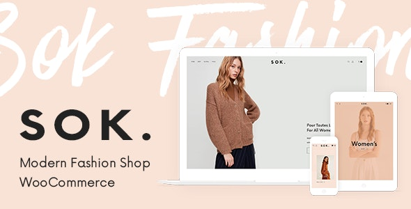 Sok - Modern Fashion Shop - WooCommerce eCommerce