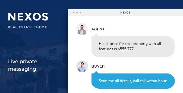Nexos - Real Estate WordPress Theme