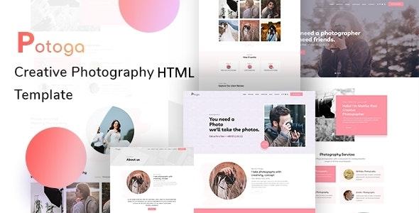 Potoga - Photography HTML Template - Photography Creative