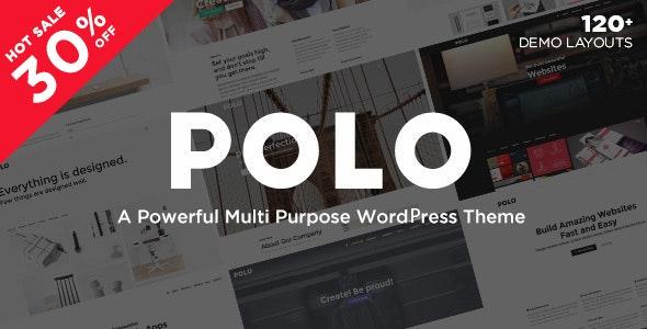Polo - Responsive Multi-Purpose WordPress Theme - Corporate WordPress