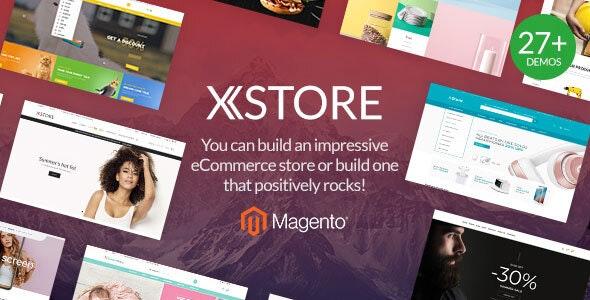 XStore - Unlimited Multipurpose Magento 2 & 1 Theme - Shopping Magento
