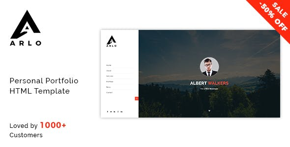 2019 S Best Selling Html Business Card Website Templates