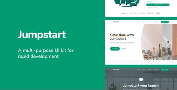 Jumpstart App and Software Template - Technology Site Templates
