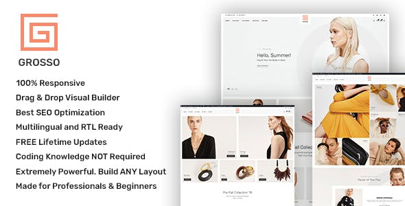 Grosso - Modern WooCommerce theme for the Fashion Industry