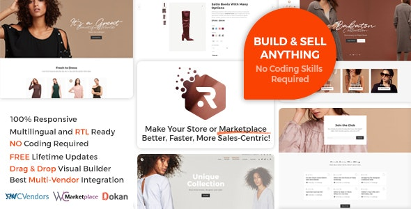 Rigid -  WooCommerce Theme for Enhanced Shops and Multi Vendor Marketplaces - WooCommerce eCommerce