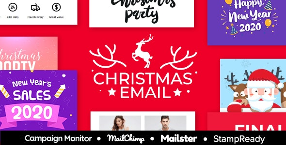 Christ-sale - Multipurpose Responsive Email Template 30+ Modules - Mailster & Mailchimp - Newsletters Email Templates