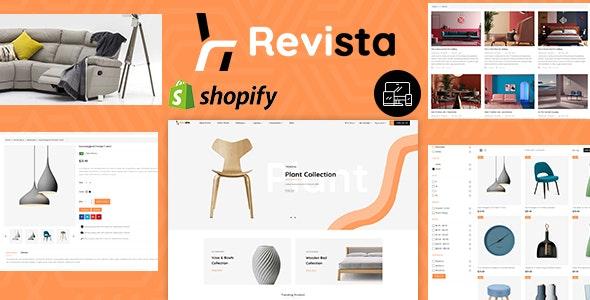 Revista - Best Shopify Furniture Responsive Theme - Shopify eCommerce