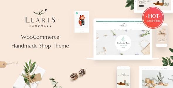 Handmade Shop WooCommerce WordPress Theme - LeArts - WooCommerce eCommerce