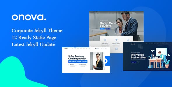 Download Onova Corporate Jekyll Theme