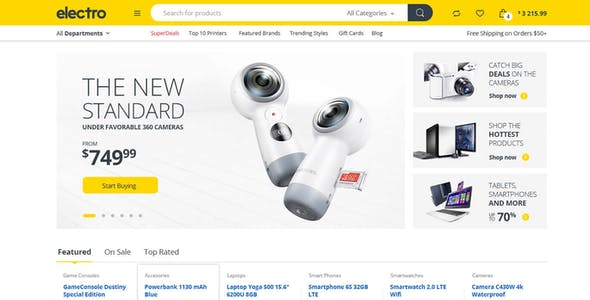 Electro - Electronics eCommerce HTML Template
