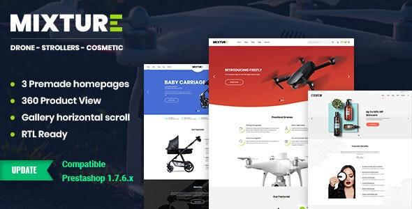 Mixture | Single Product Prestashop 1.7 Theme - Miscellaneous PrestaShop