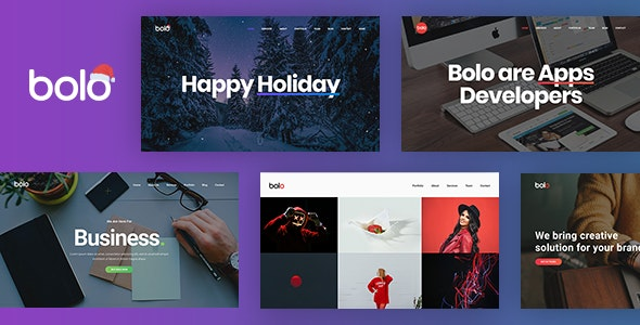 Bolo - One Page Creative Multipurpose - Portfolio Creative