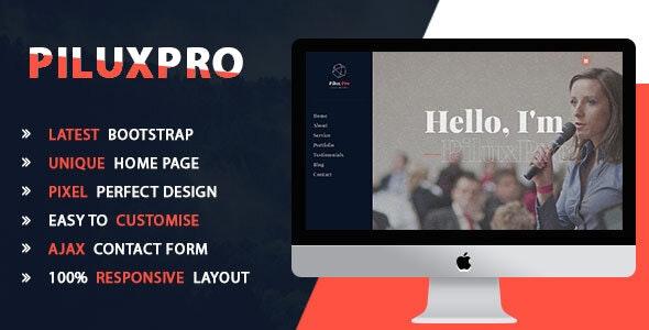 Piluxpro - Creative Portfolio Template - Portfolio Creative