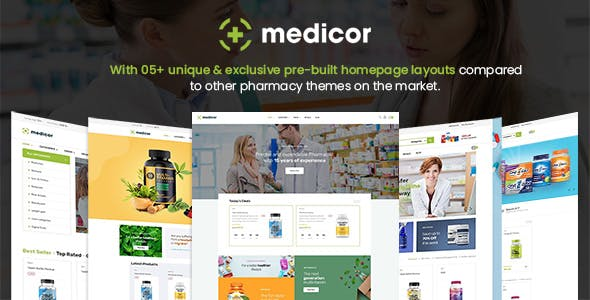Medicor - Pharmacy Store PrestaShop Template