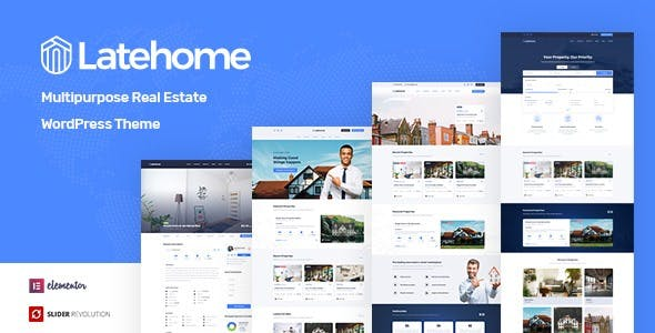 Download LateHome - Real Estate WordPress Theme
