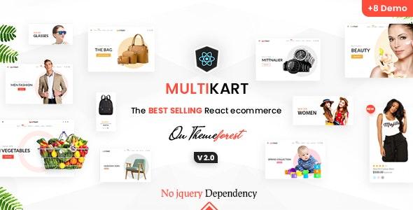 Multikart - React eCommerce Template - Shopping Retail