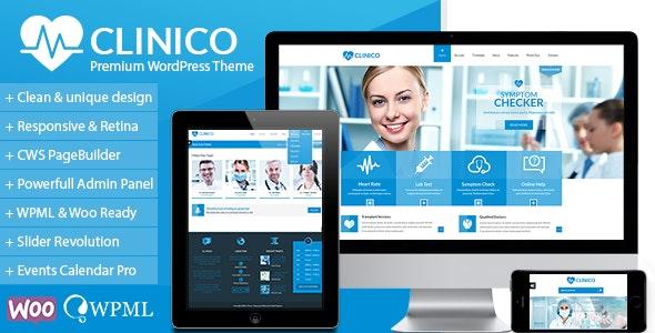 Clinico - Premium Medical and Health Theme - Health & Beauty Retail