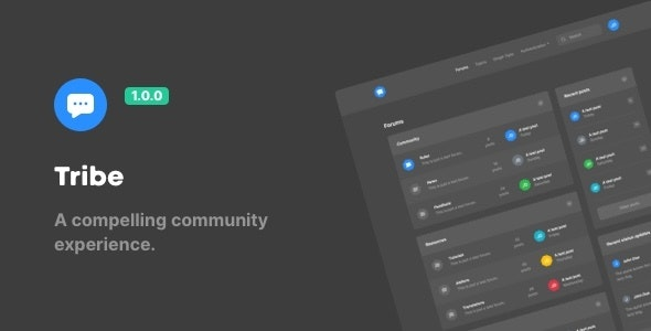 Tribe – A Compelling Community Experience - Miscellaneous Site Templates