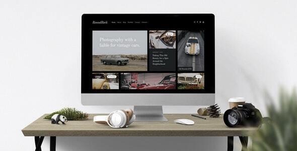 RoundRock — Showcase & Blog Drupal Theme - Photography Creative
