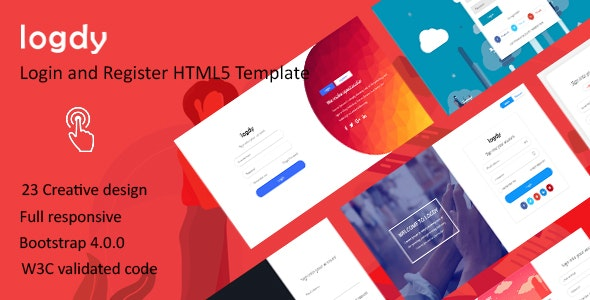Logdy - Login and Register HTML5 Template - Miscellaneous Specialty Pages